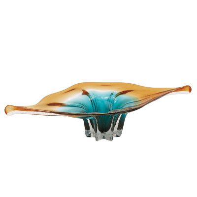 **$130.00  Urban Designs Decorative Glass Bowl