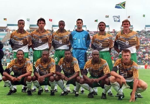 Bafana Bafana, National Team - Fifa World Cup 1998
