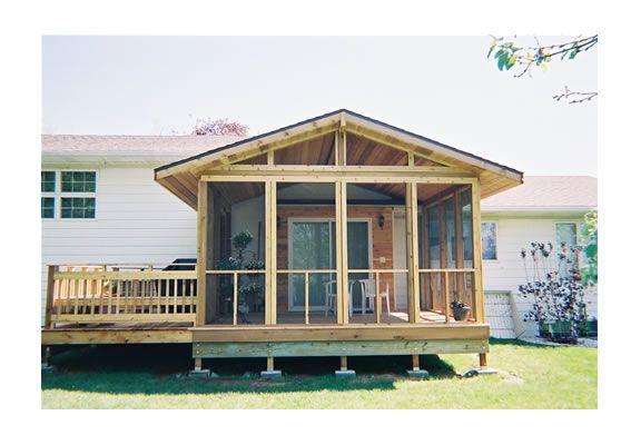 Best 25+ Enclosed decks ideas on Pinterest | Patio deck ... on Enclosed Back Deck Ideas id=17040