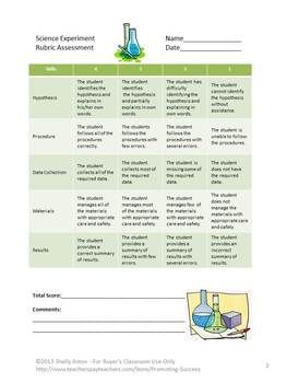 183 best rubrics images on pinterest science ideas interactive science rubric scientific method experiments assessment ccuart Gallery