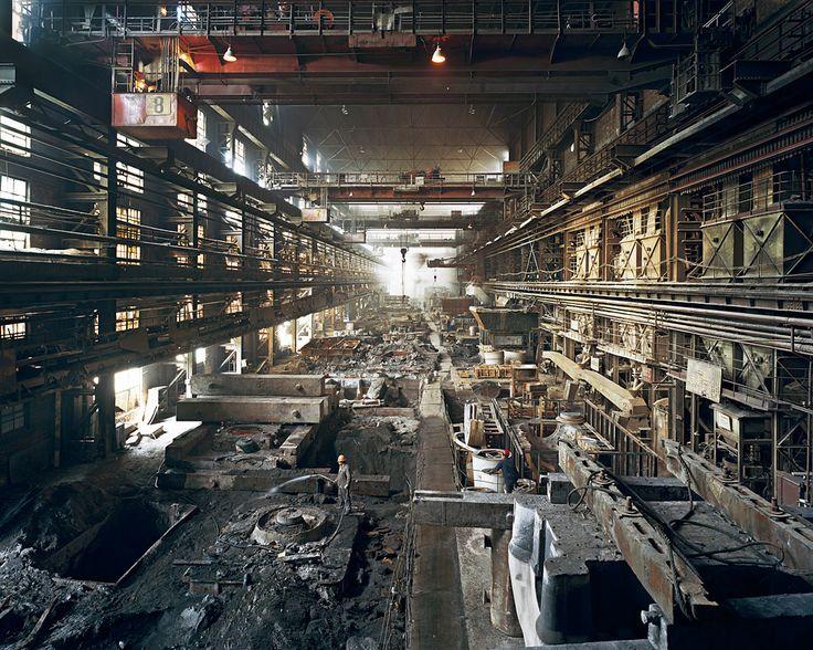 Old Factories #4 by Edward Burtynsky