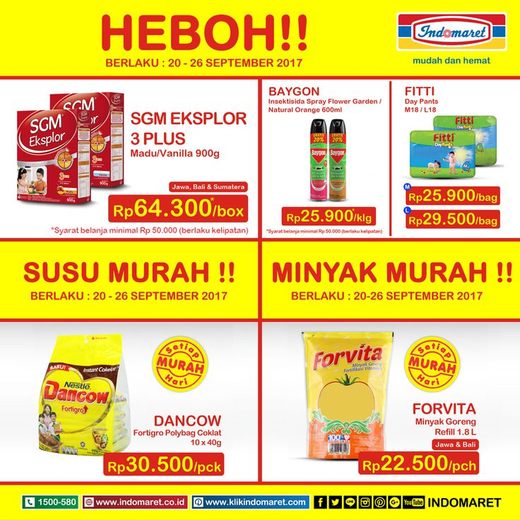 Promo #SuperHemat Periode 20 - 26 September 2017