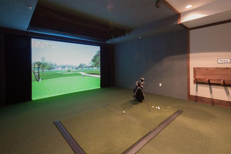 10 best den study cozy nook images on pinterest home for Indoor golf design