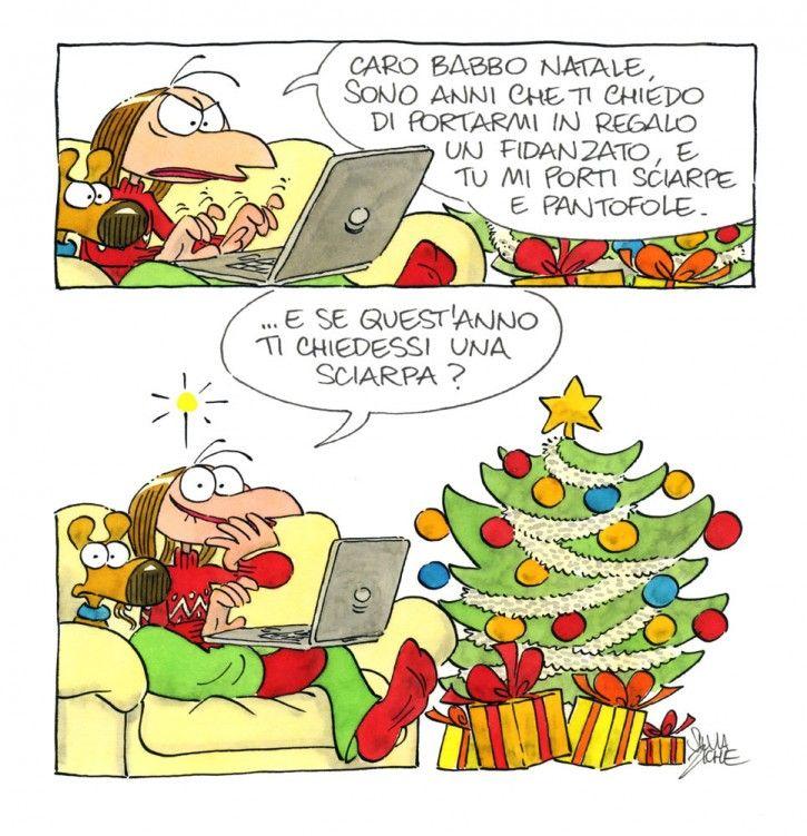 Vignetta Lucrezia dm1 Babbo Natale