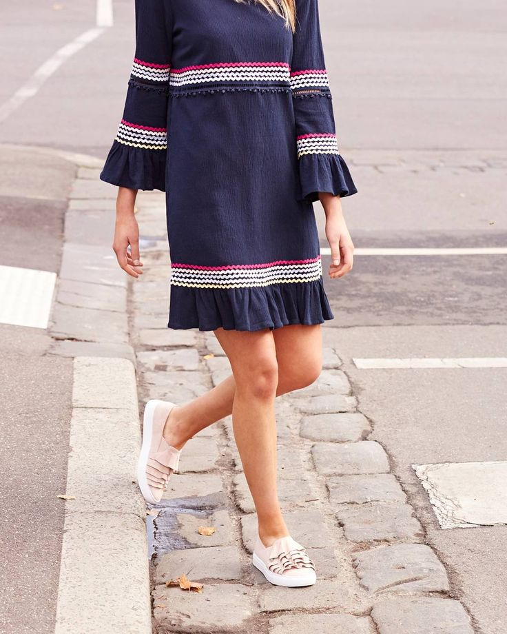 Pops of candy colours brighten up this casual shift dress. #myFC #frenchconnectionau #instagram