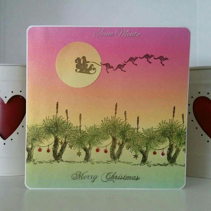 Delightful Card Making Ideas In Australia Part - 14: Grass Tree Australian Christmas