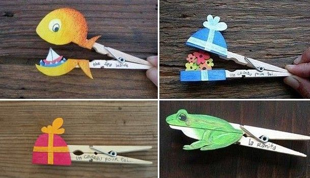 DIY Clothespin Crafts