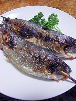 ニジマスレシピ・作り方の人気順|簡単料理の楽天レシピ ポン酢醤油でいただく ニジマスの塩焼き