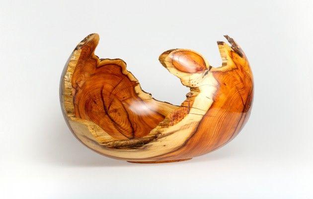 Bildergallerien und Beschreibungen von Holzschalen, Holzschüsseln und Dekorations-Stücken aus verschiedenen Hölzern