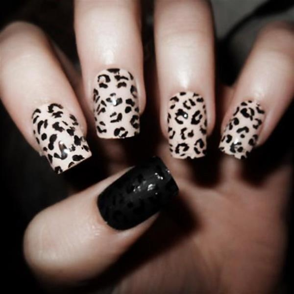 animal printed nails! by Annelie