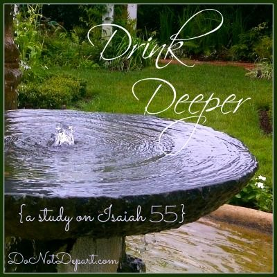 87 best bible study and memorization images on pinterest bible drink deeper a study on isaiah 55 at donotdepart fandeluxe Choice Image