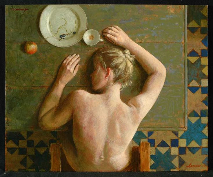 Head on Table - Kenne Gregoire