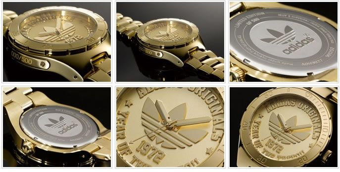 adidas originals 40th anniversary trefoil watch