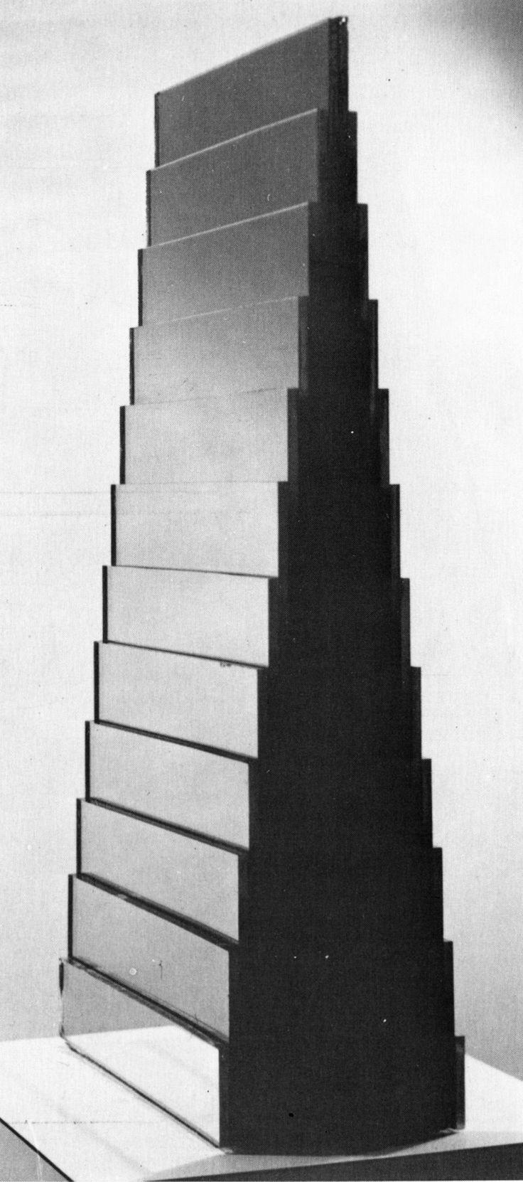 Robert Smithson, Ziggurat Mirror, 1966