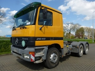 For sale: Used and second hand - Tractor unit MERCEDES-BENZ 2640 LS