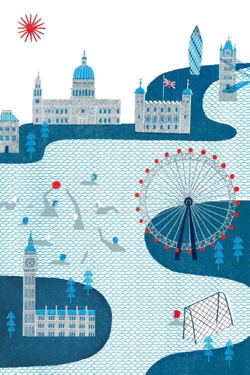 London Map - Masako Kubo
