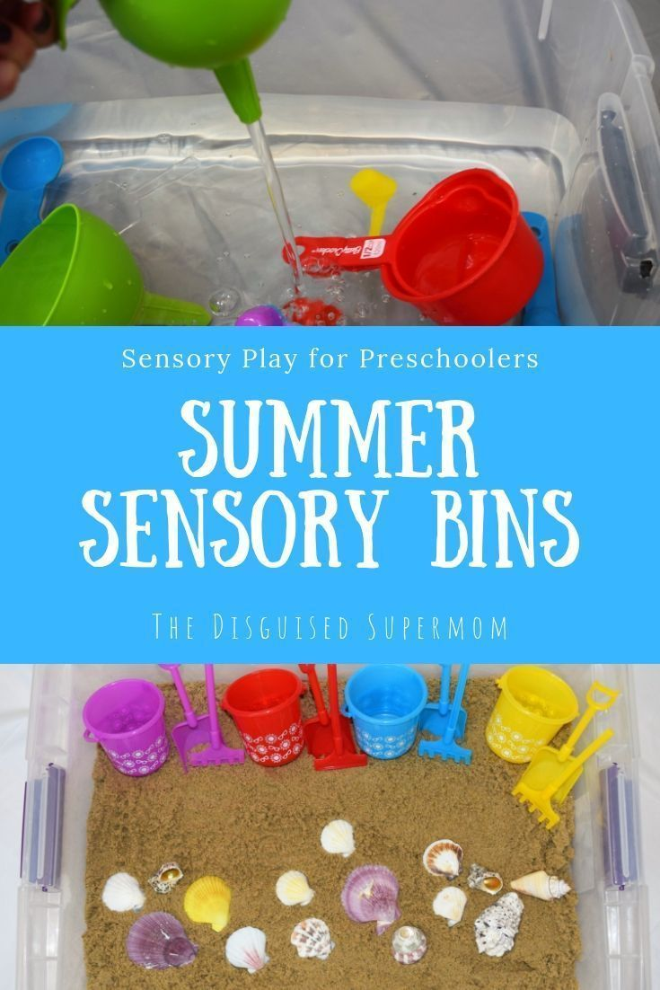Summer Sensory Bins for Kids – Stay at Home Mom Hacks – #Bins #Hacks #Home #Kids #Mom #Senso