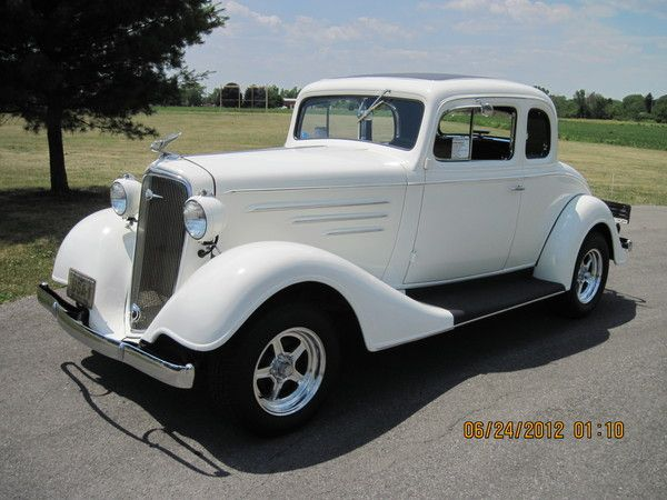 1934 CHEVY HOT ROD COUPE