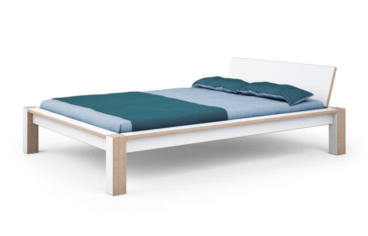 Bett Multiplex-weiss-alfred-nein-140 x 200 cm