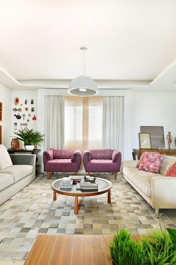 Apartamento colorido e aconchegante (Foto: Sidney Doll / divulgação)