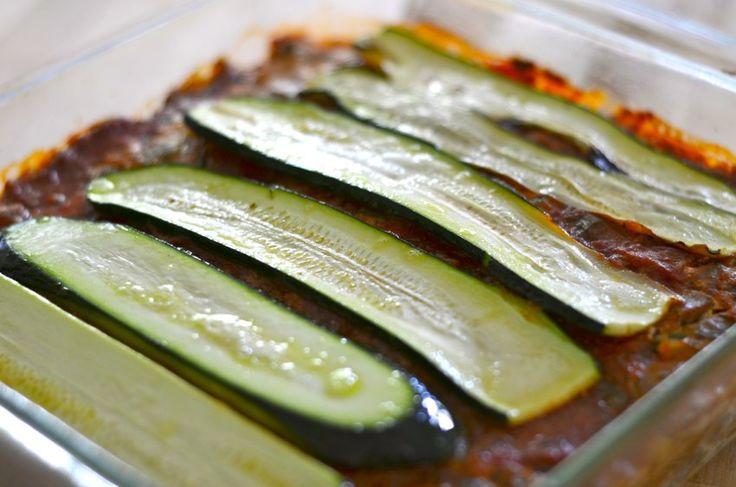Paleo Tuscan Roasted Vegetable Lasagna