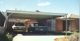 Steel carports Melbourne