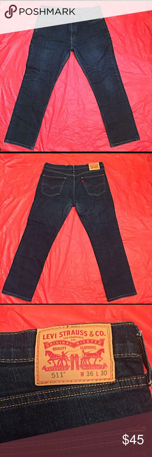 Mens Levi 511 Slim Fit Jeans Mens Levi 511 Slim Fit Jeans  Waist 36 Length 30 Levi's Jeans Slim