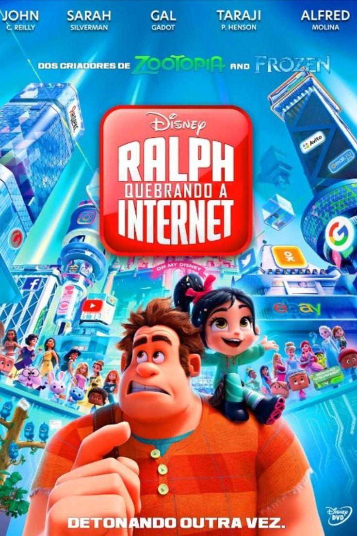 WiFi Ralph Quebrando a Filmes, Detona ralph