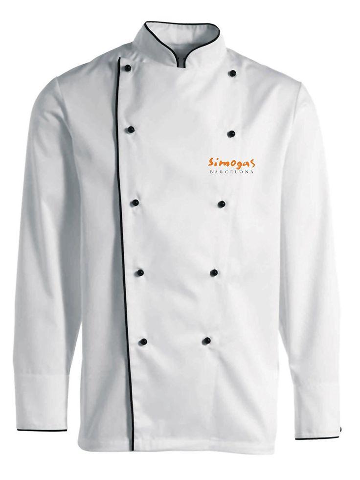 Simogas V01–Chef Jacket, White
