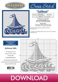 Free Download - Summer Collection Sailboat - Sullivans Project Central