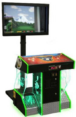 Golden Tee Golf 2014 - FunCo V4 Pedestal Model From Fun Company