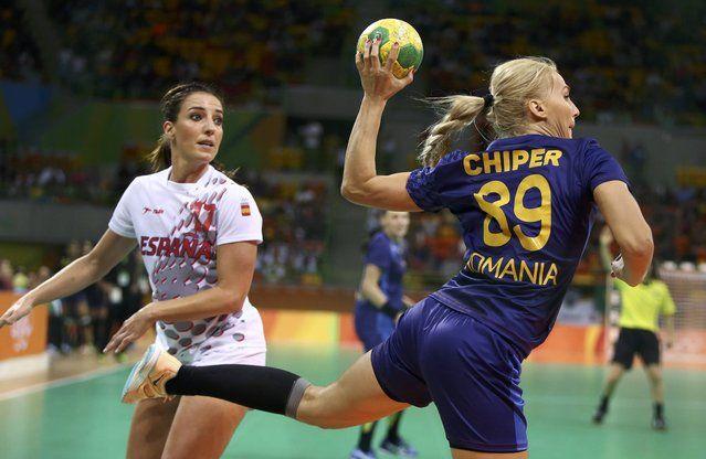2016 Rio Olympics, Handball, Preliminary, Women's Preliminary Group A Romania vs…