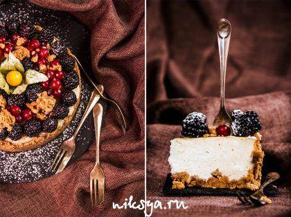 Домашний чизкейк на твороге | Самый вкусный портал Рунета