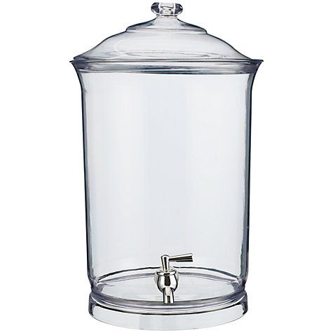 Buy John Lewis Acrylic Picnic Drinks Dispenser Online at johnlewis.com