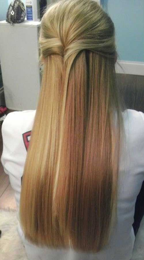 Fabulous 1000 Ideas About Straight Hairstyles Prom On Pinterest Hard Short Hairstyles Gunalazisus
