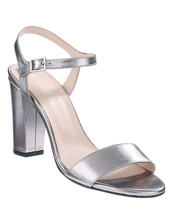 Metallisches Silber prägt die Schuhtrends von Frühjahr und Sommer 2017.