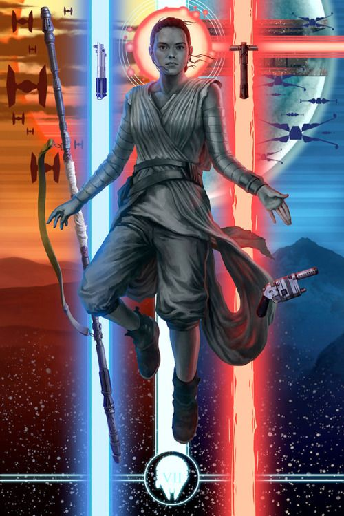 Rey Awakened by Michael Matsumoto