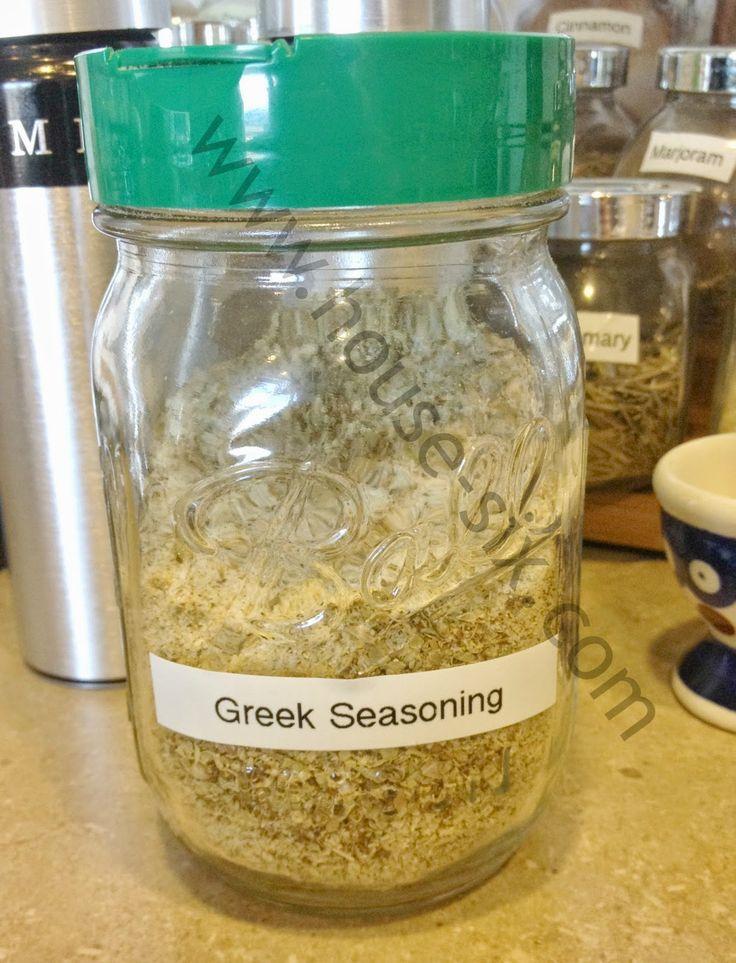 Copy Cat Cavender's Greek Seasoning Recipe on Homemade with House 6