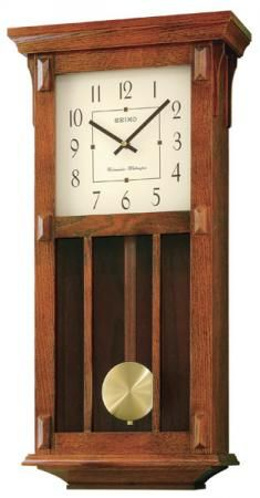 Found it at Clockway.com - Seiko Suzanne Chiming Wall Clock - GSK4462
