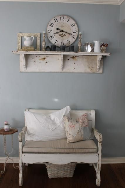 Painting the Past - Blue Grey - Love that vignette!!!!