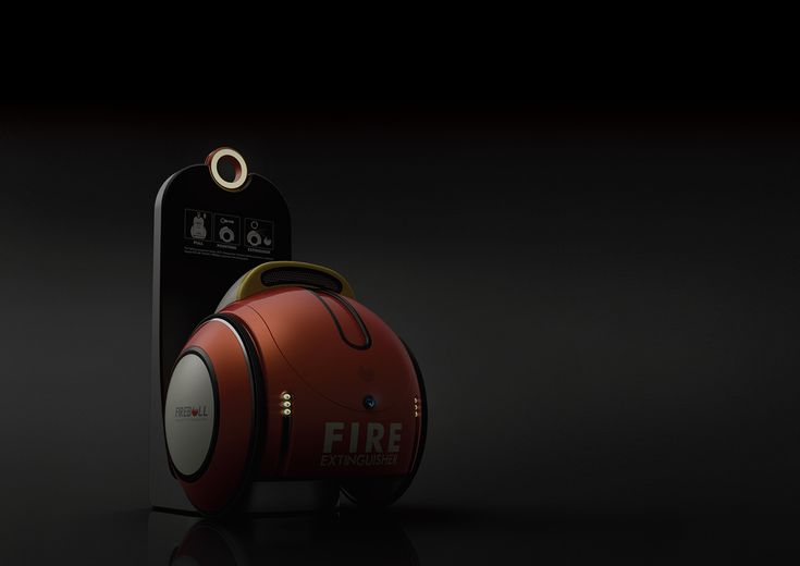 Fireball: Automatic Fire Extinguisher #archives
