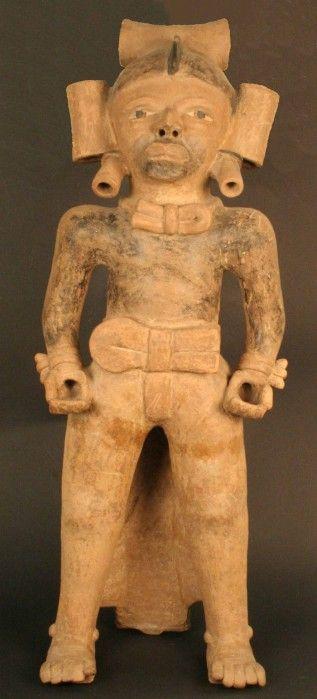 Figura  antropomorfa masculina Cultura Veraruz Mexico  Periodo: 600- 900 d.C.