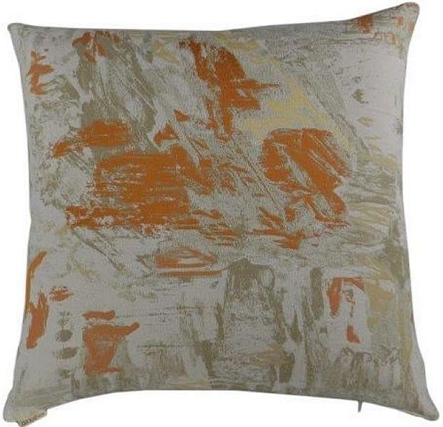 Flexform - Orange Throw Pillow