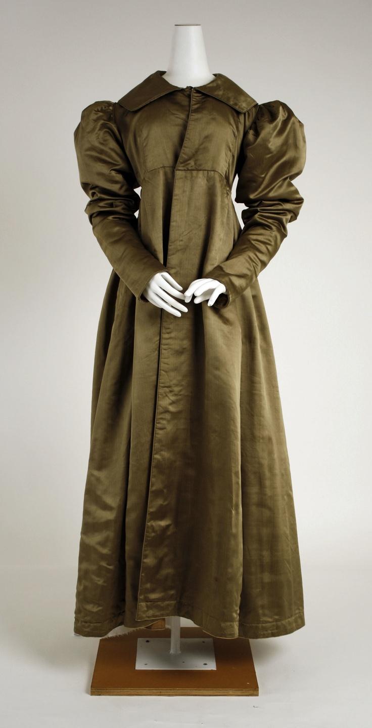 Pelisse: ca. 1814-1820, American, silk.
