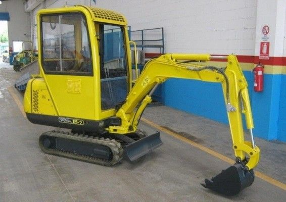 hyundai robex 15-7 mini excavator service & operation manual