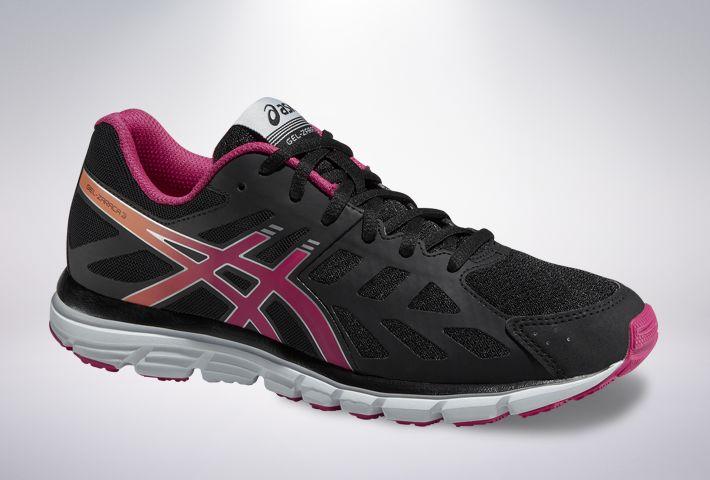 Asics GEL-Zaraca 3 - damskie buty do biegania (czarno-różowy) #asics https://dotsport.pl/asics-gel-zaraca-3-damskie-buty-do-biegania-czarno-rozowy.html
