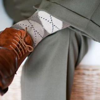 Just go ahead and trash all your white socks.: Men Clothing, Men Style, Fans, Men Fashion, Man Staples, Argyle Socks, White Socks