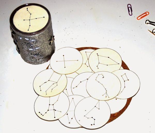 Fabrication d'un projecteur à constellations ~ La petite vie d'Ilhan et Mélia (ou la vie sans école)