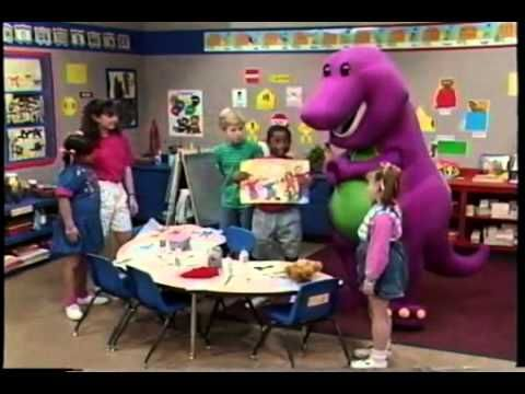 Barney My Family_s Just Right for Meعلى منتدى هايتك سات - YouTube