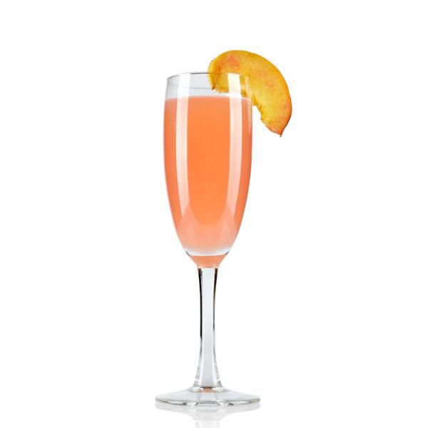 Bellini is a classic Italian cocktail recipe wich consists of Prosecco and Peach. Bellini cocktail is served in a Champagne flute glass  Read more: http://cocktaillab.org/cocktails/bellini-cocktail#ixzz3BzZuOiXd